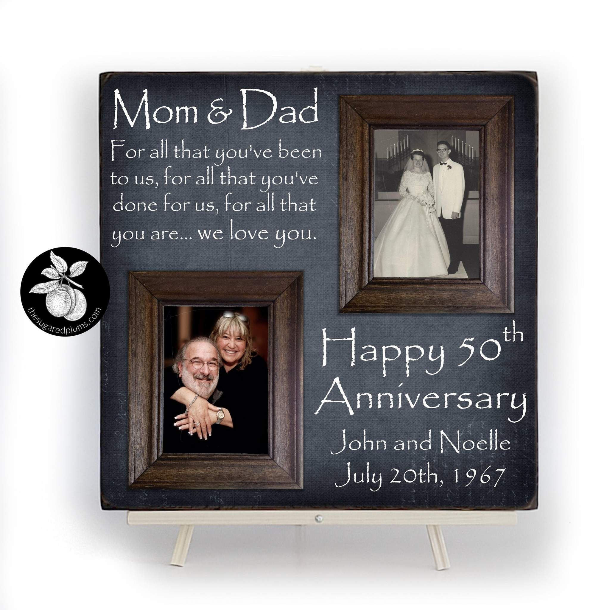 50th Anniversary Gifts For Parents Anniversary Picture