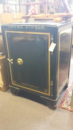 Mosler Safe Antique Safe Secret Rooms Sinton