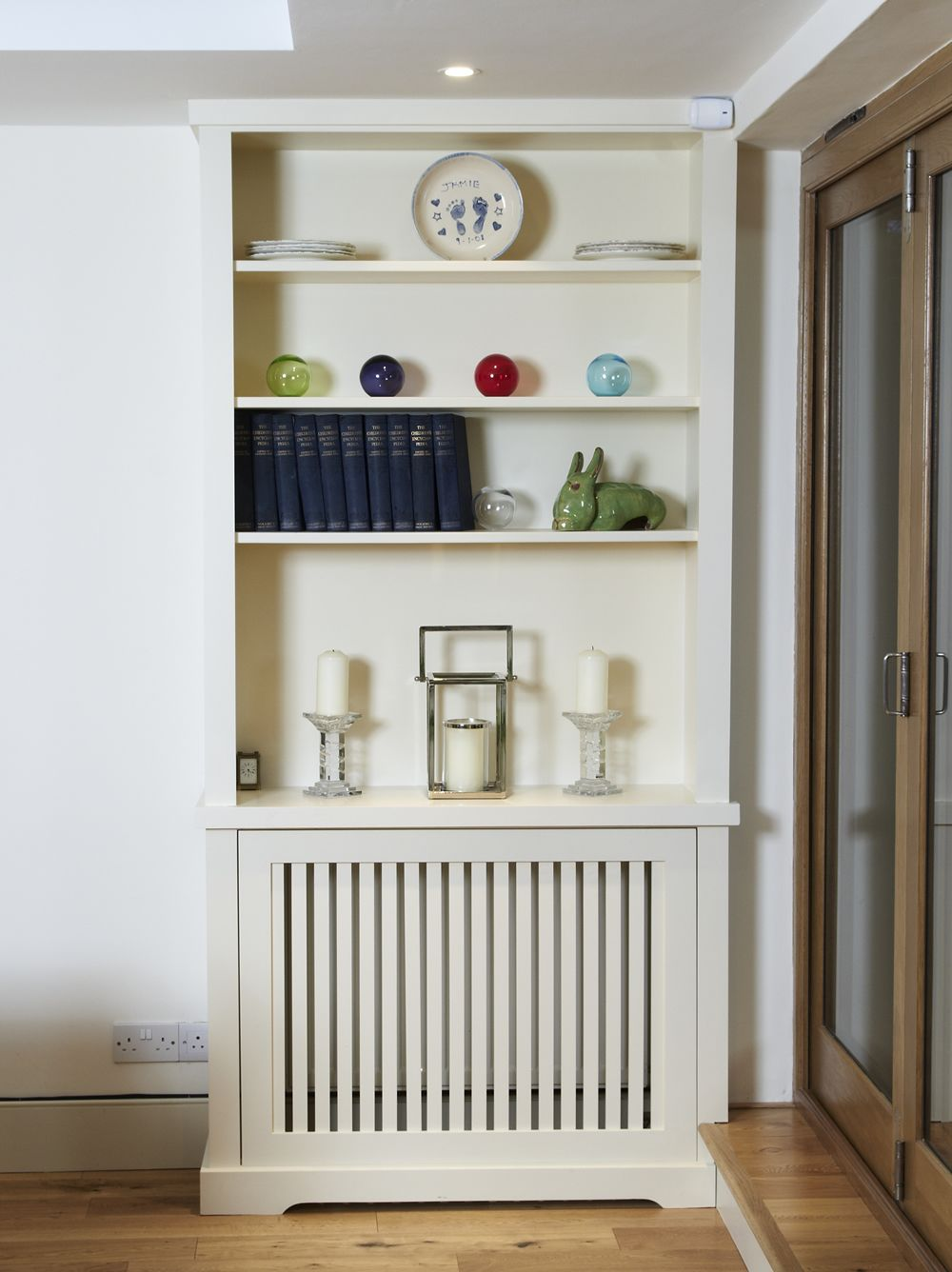Designer Living Room Radiators: Modern And Classic Handbuilt Bookcases
