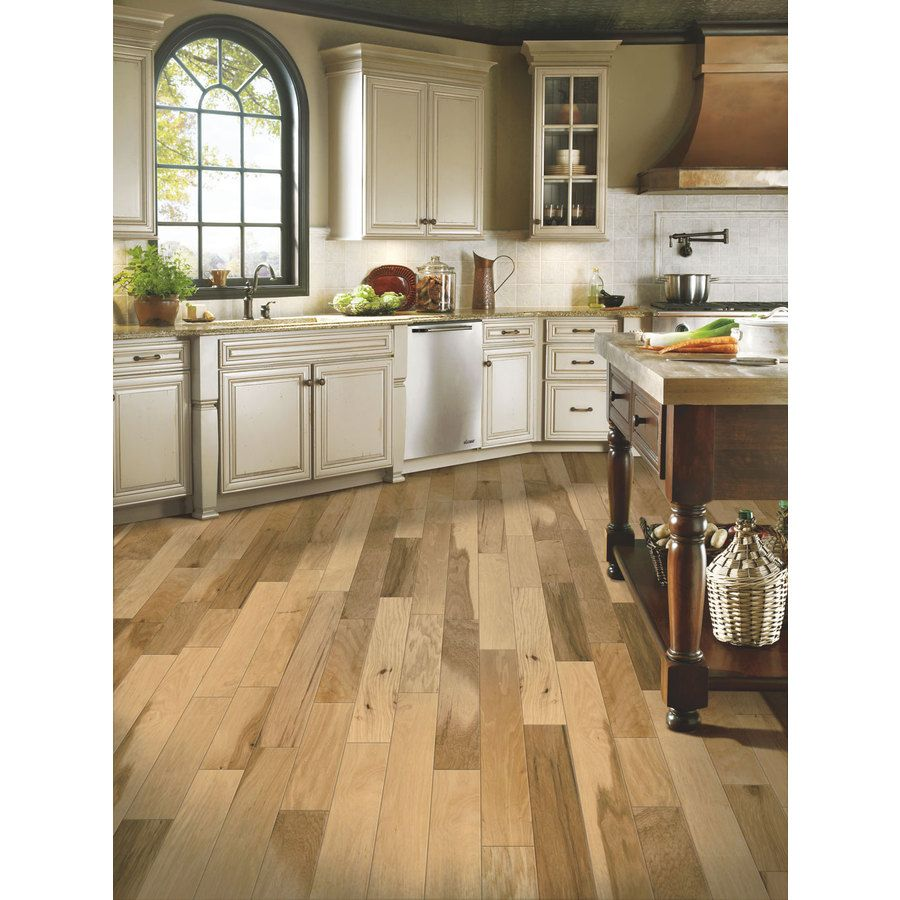 Shop Bruce High Impact 5-in W Prefinished Hickory Locking