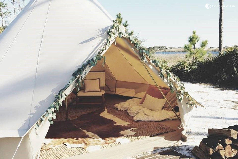 Beautifully Furnished Glamping Tent Campground Near Panama City Beach