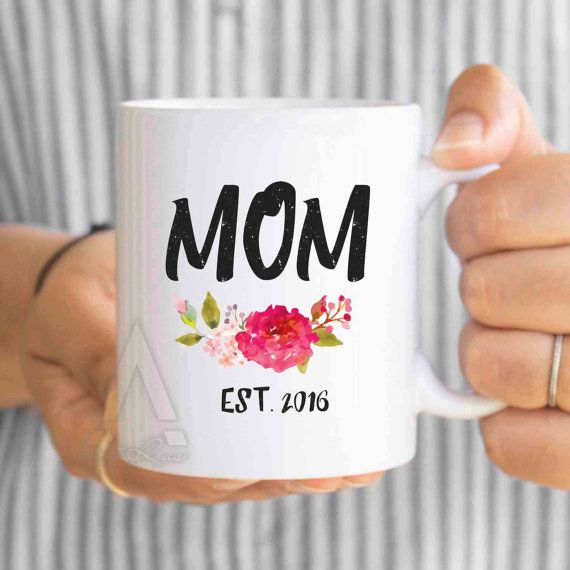 New Mother Xmas Gift Mom Est Mug Mom To Be Expecting Mom