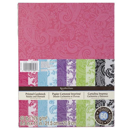 Michael S The Paisley And Damask Designs Of This Paper Pack Will