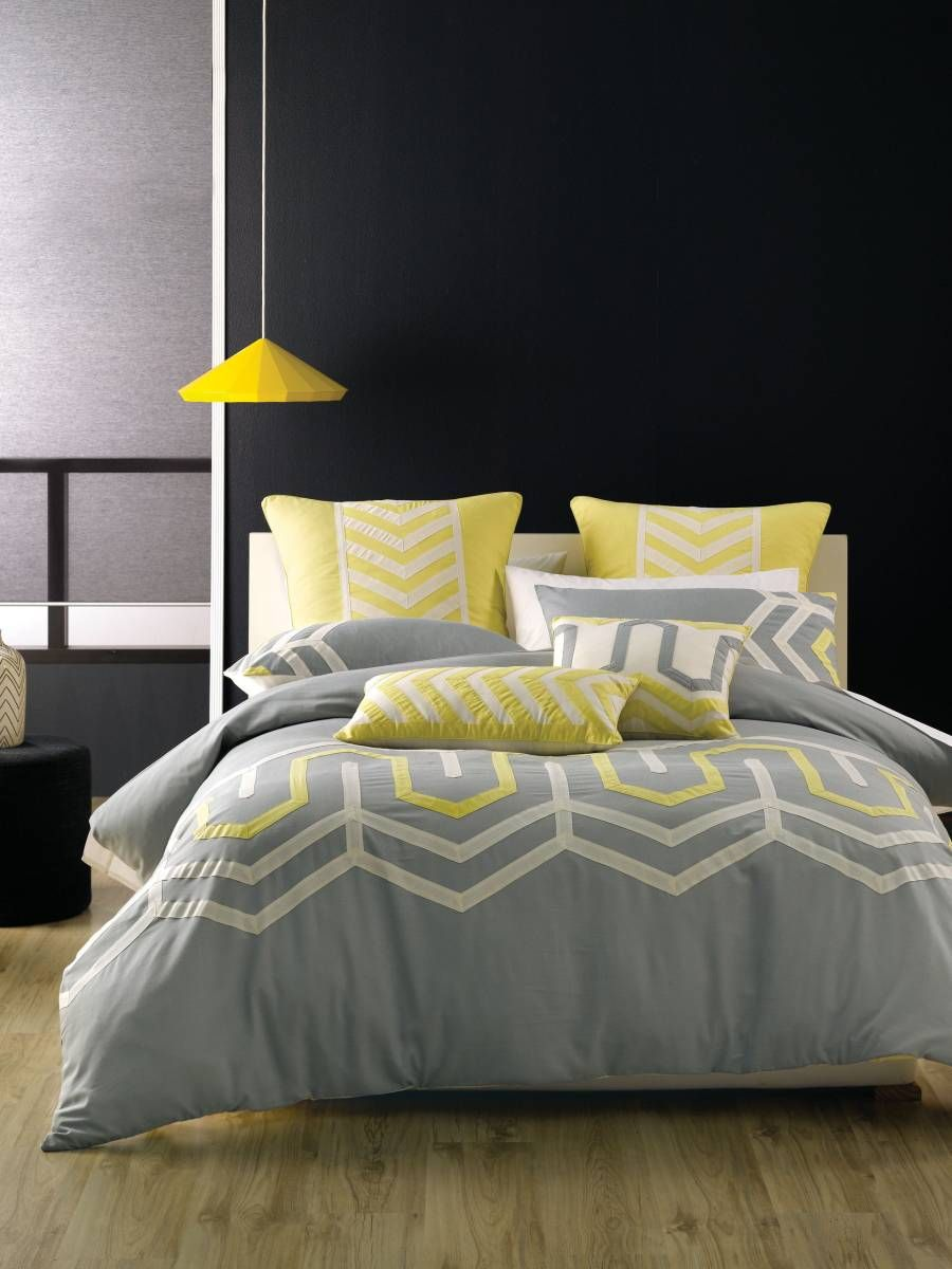 Single Quilt Cover Sets Ralston Yellow Covers Online