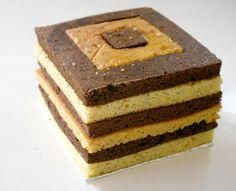 Checkered Cake How To Make A Checkered Cake Checkered Cake Checkerboard Cake Minecraft Cake