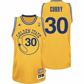 96cc81444e2 Youth - Hardwood Classics Gold NBA Jersey: Stephen Curry #30   For ...