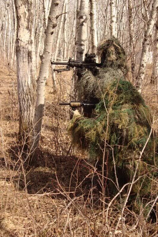 how to make a ghillie