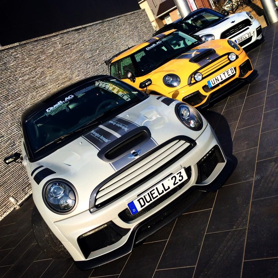# Mini Cooper & Countryman Image By DKK