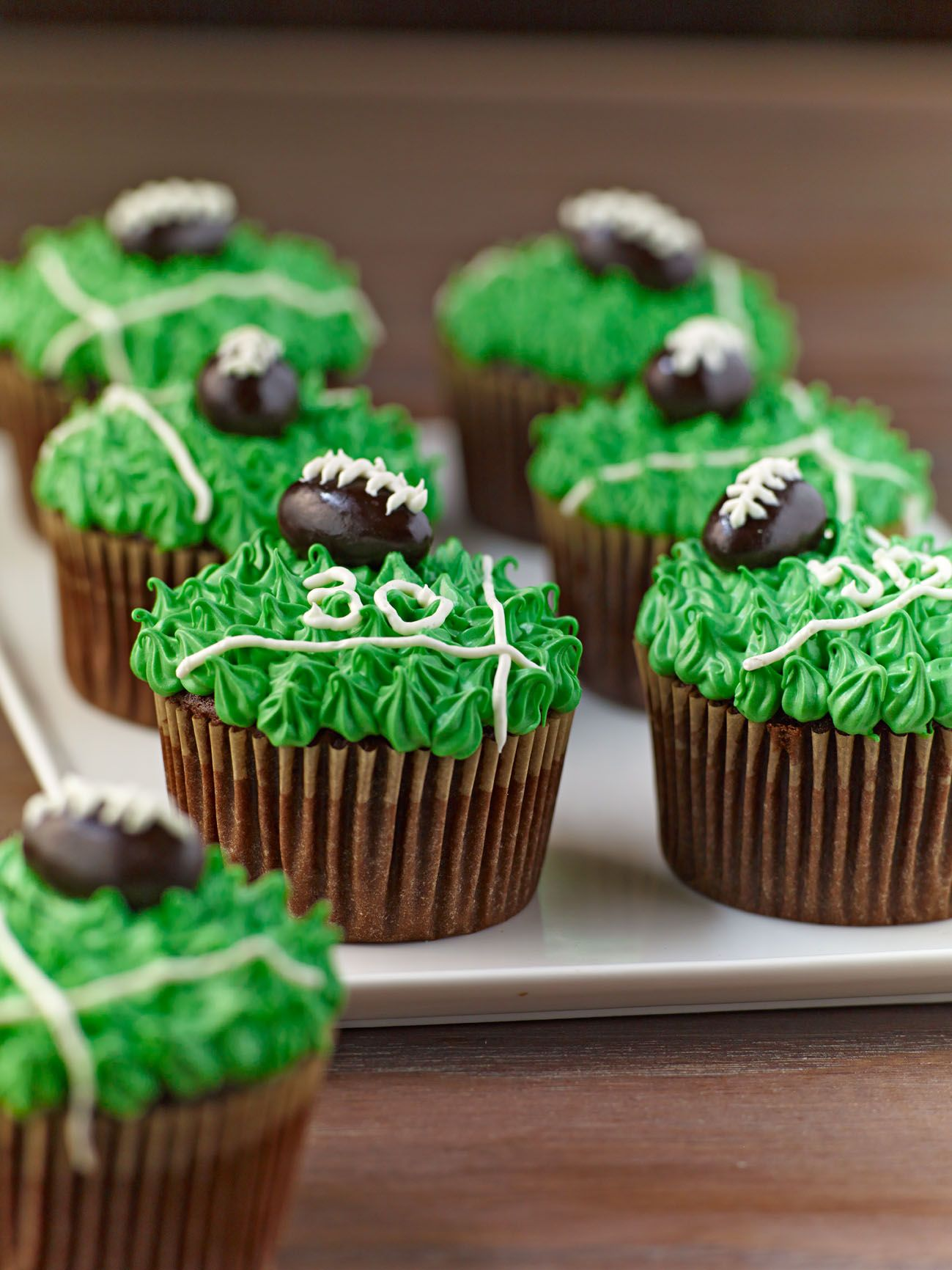 Game Day Cupcakes From Familycircle Com Cupcakes Dessert