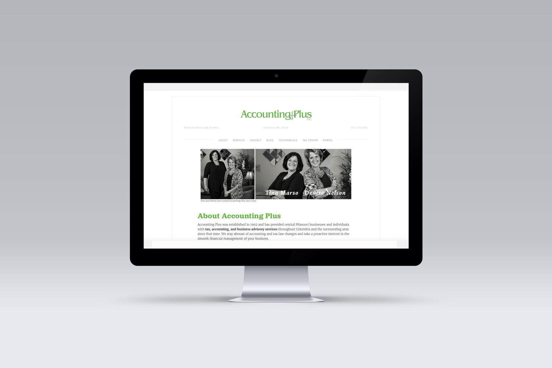 Accounting Plus Web Design Website Design Finance Goals