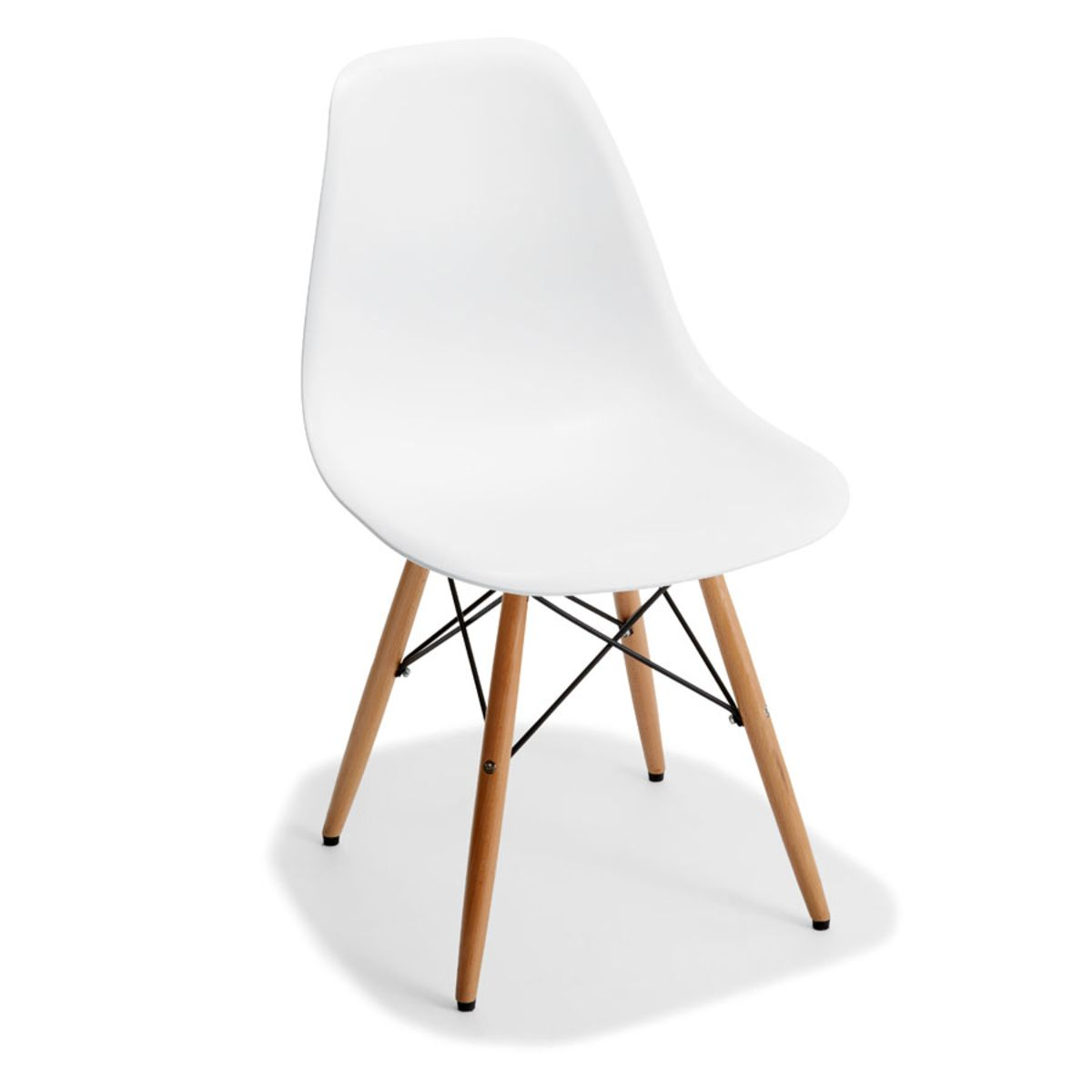 Dining Chair - White  Kmart  White dining chairs, Dining chairs