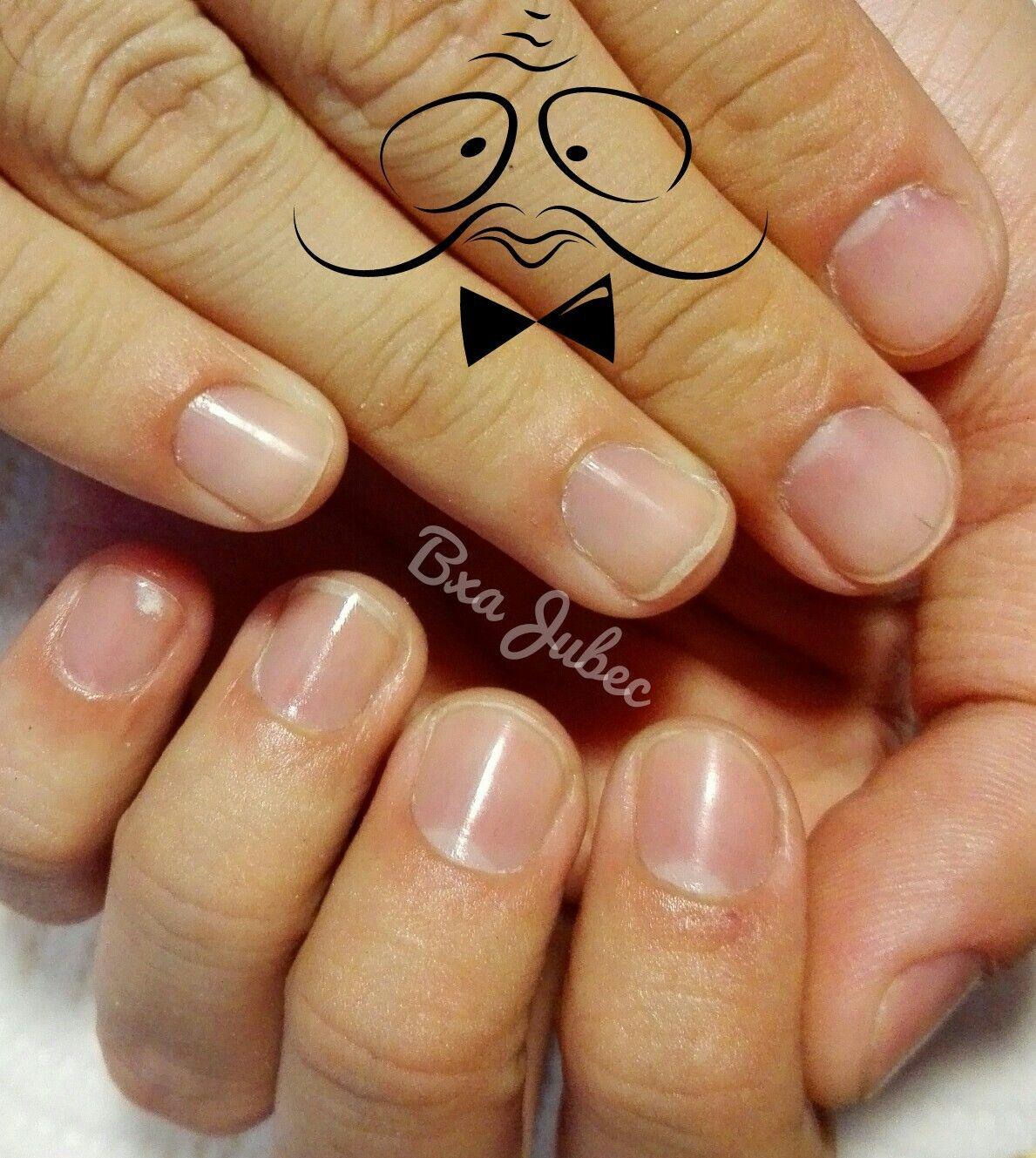 Manicura hombre | uñas Betsa Jubec | Pinterest | Manicuras