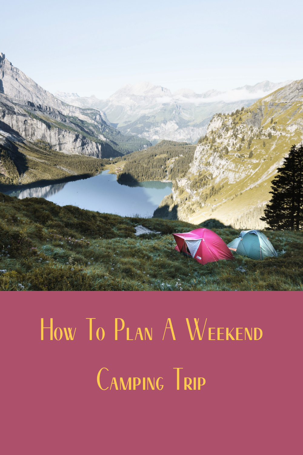 5 Point Checklist For A 2 Night Camping Trip Weekend Camping Trip Trip Outdoors Adventure