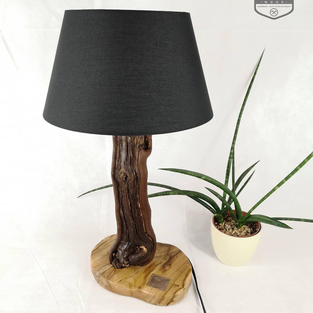 Lampe Rebholz Black Beauty Teakholz In 2020 Lamp Novelty Lamp Table Lamp