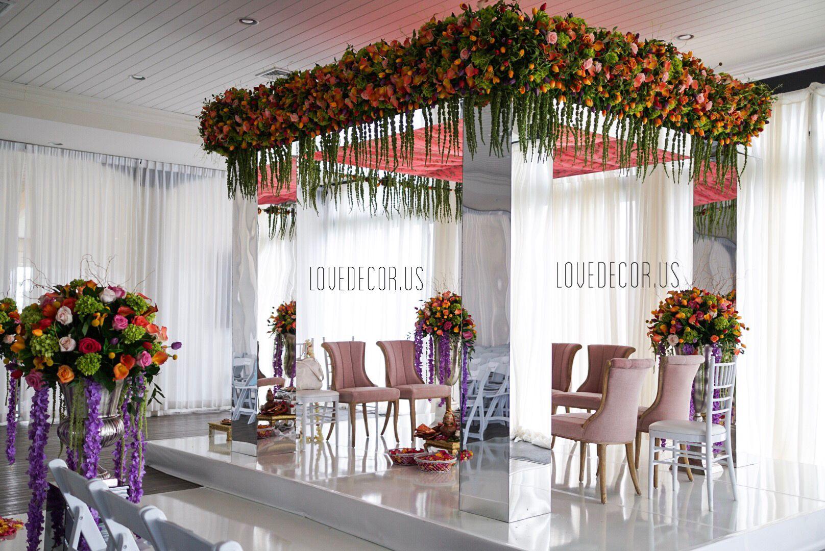 Marigold Sangeet decor, Sangeet, wisteria, Mehndi, Massachusetts ...