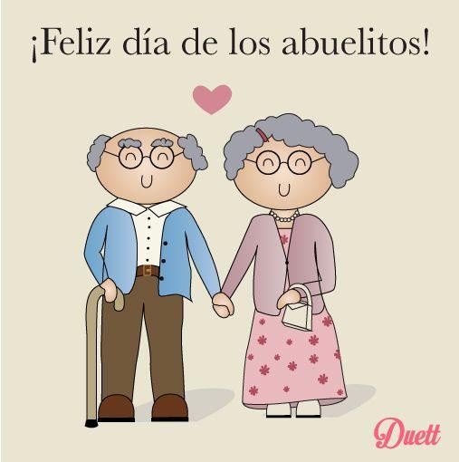 ¡Feliz día de los abuelitos! | Feliz dia del abuelo, Dia ...