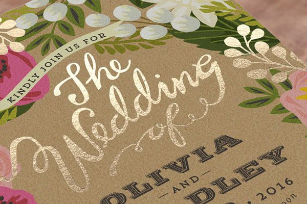 minted foil press invitations invitation design wedding and weddings