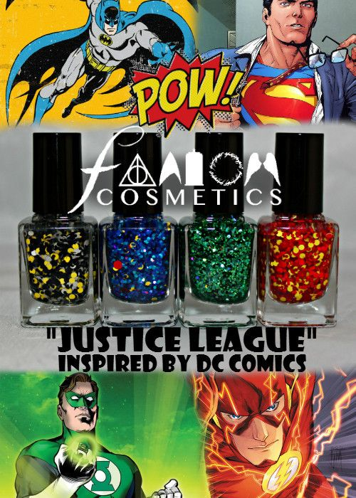 The Justice League Nail Polish Collection | the daily nail ...