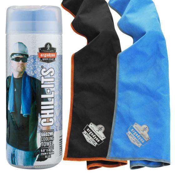 Ergodyne Chill Its 6602mf Microfiber Cooling Towel In 2020 Towel