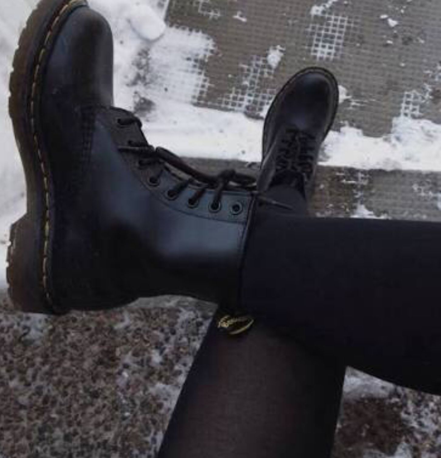 Boots, Combat boots, Leather