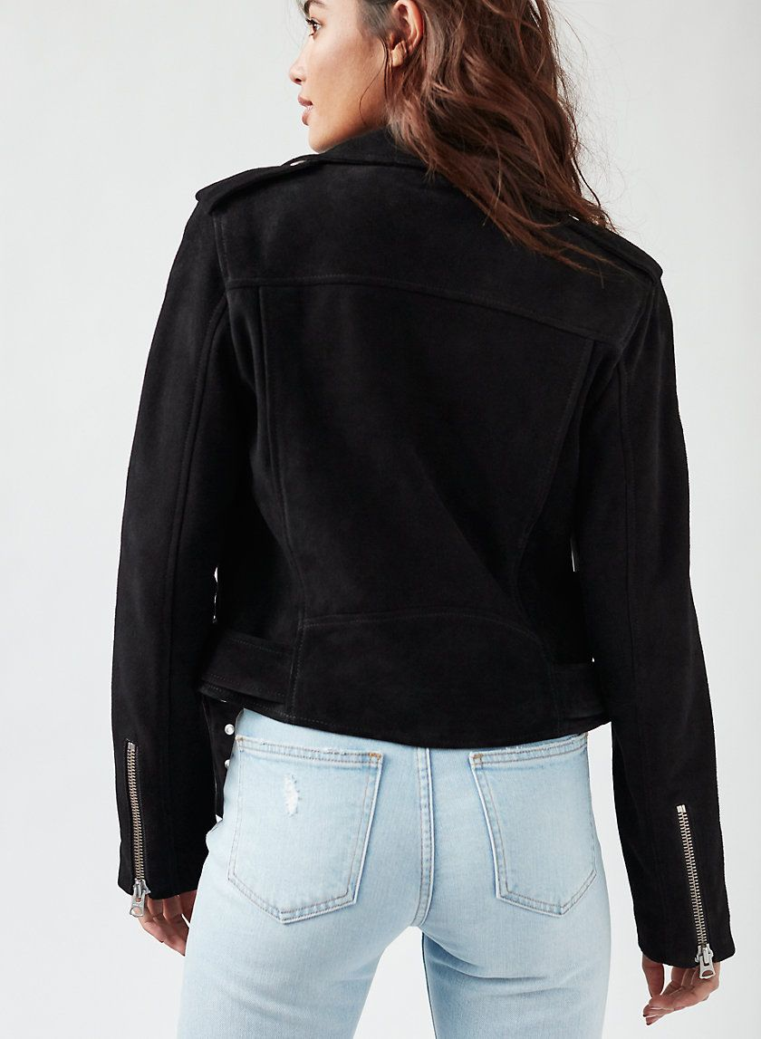 13620dc93 Lennon suede biker in 2019 | Spring Outfits We Love | Winter outfits ...