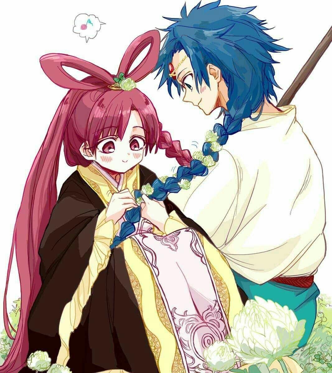 I ship it Anime magi, Aladdin magi, Sinbad magi