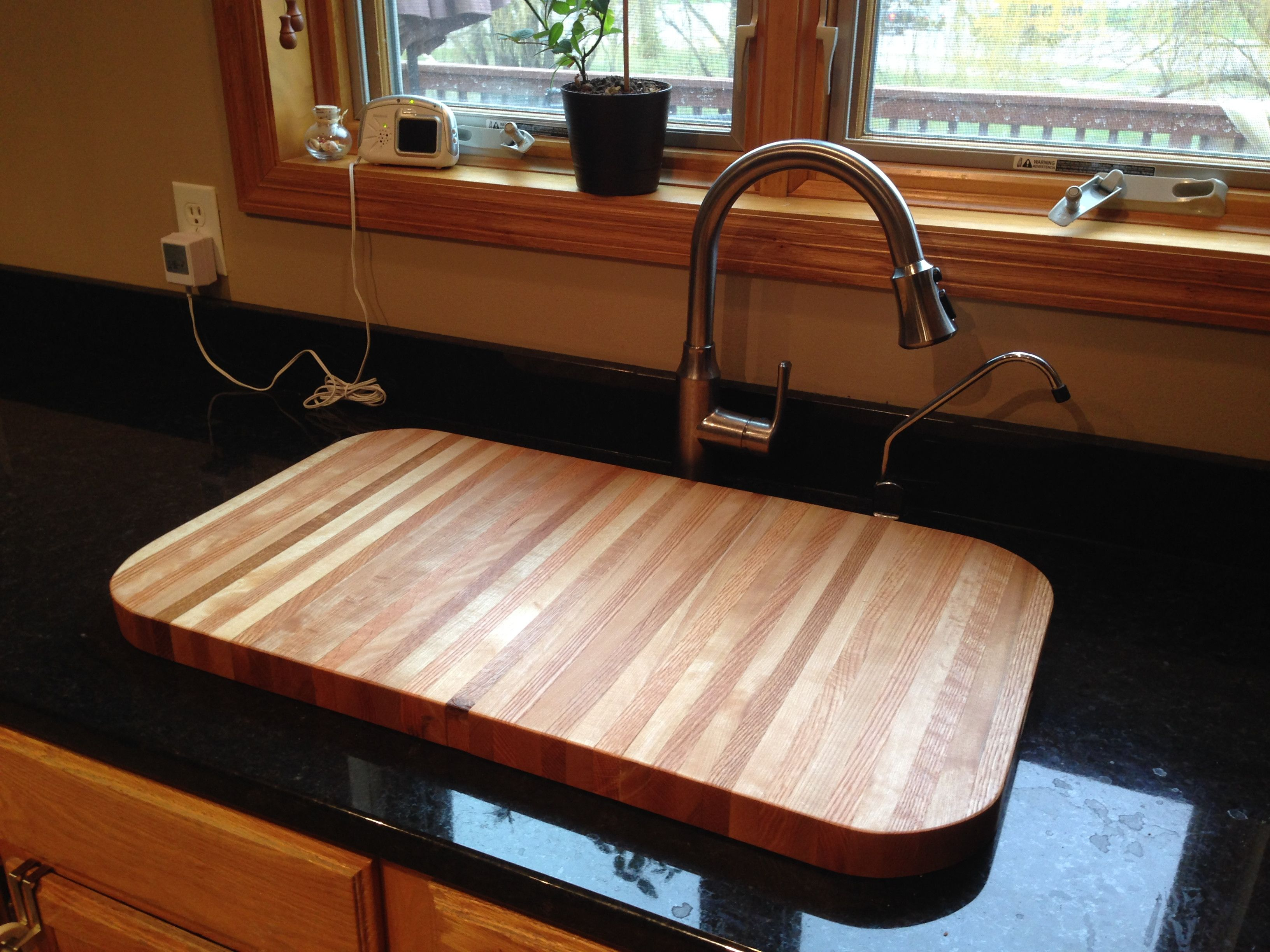 sink insert | kitchen in 2019 | wood sink, sink cover, rv sink