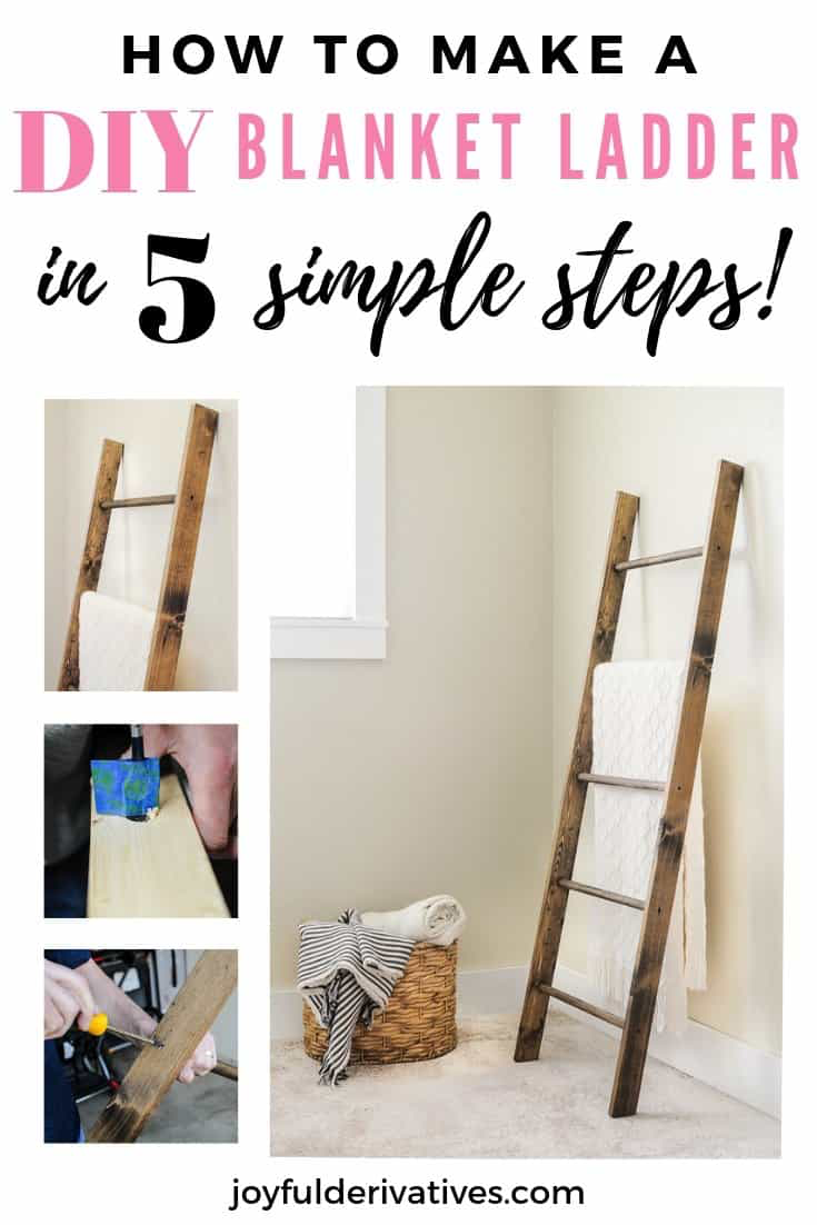 How to Make a Blanket Ladder for $25!
