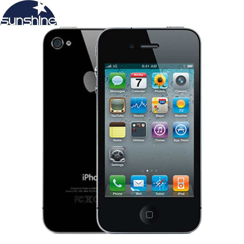 Aliexpress Com Comprar Iphone4 Apple Iphone 4 Telefono Movil Abierto Original 3 5 Ips Telefono Usado Telefonos Celulares Gps I Iphones Iphone 4s Apple Iphone