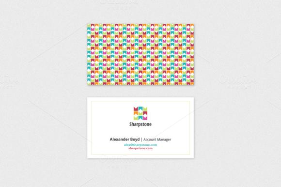Sharpstone Business Card Template Creativework Business Cards - Business card adobe illustrator template