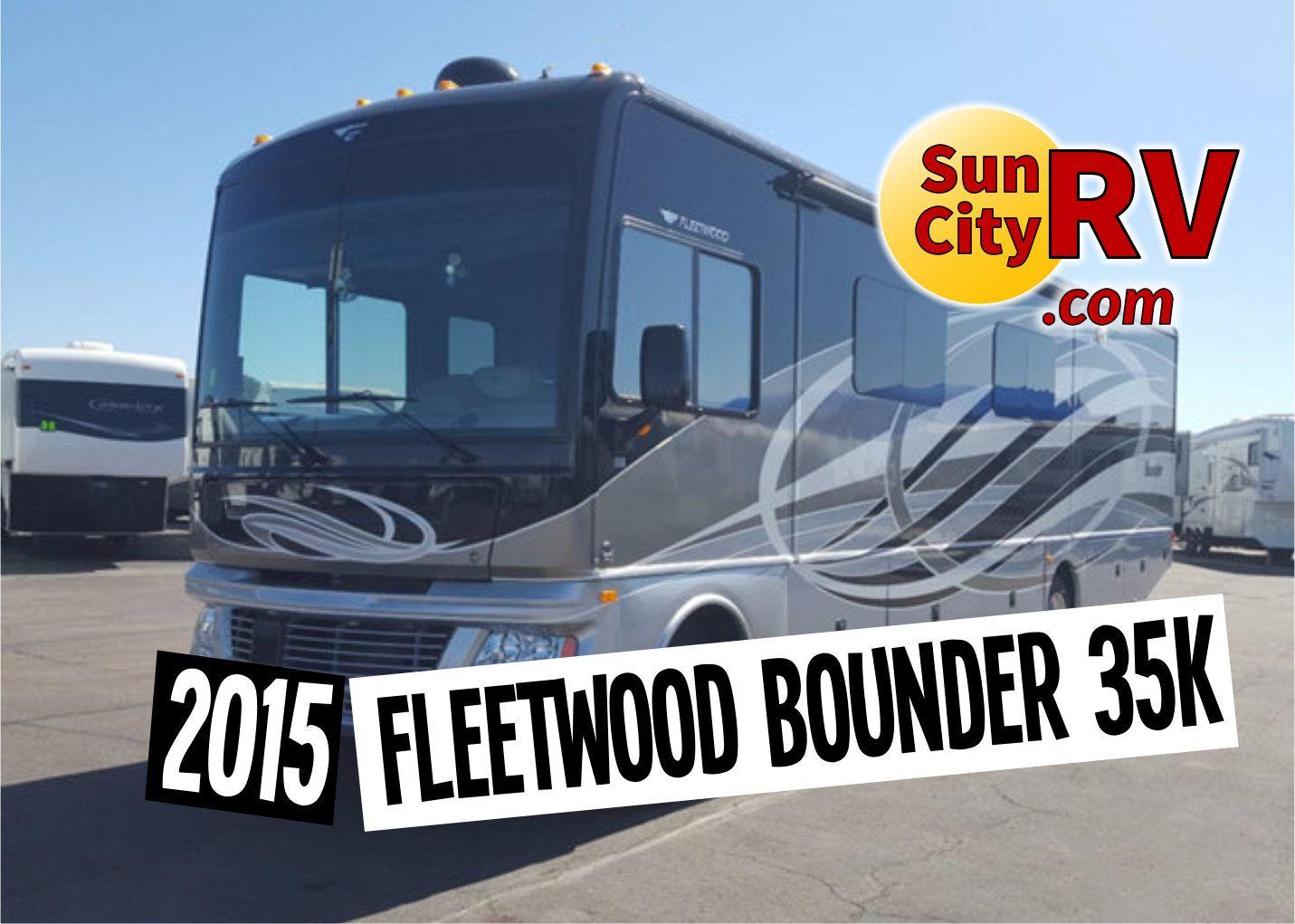 This Gorgeous 2015 Fleetwood Bounder 35k Has Granite Countertops