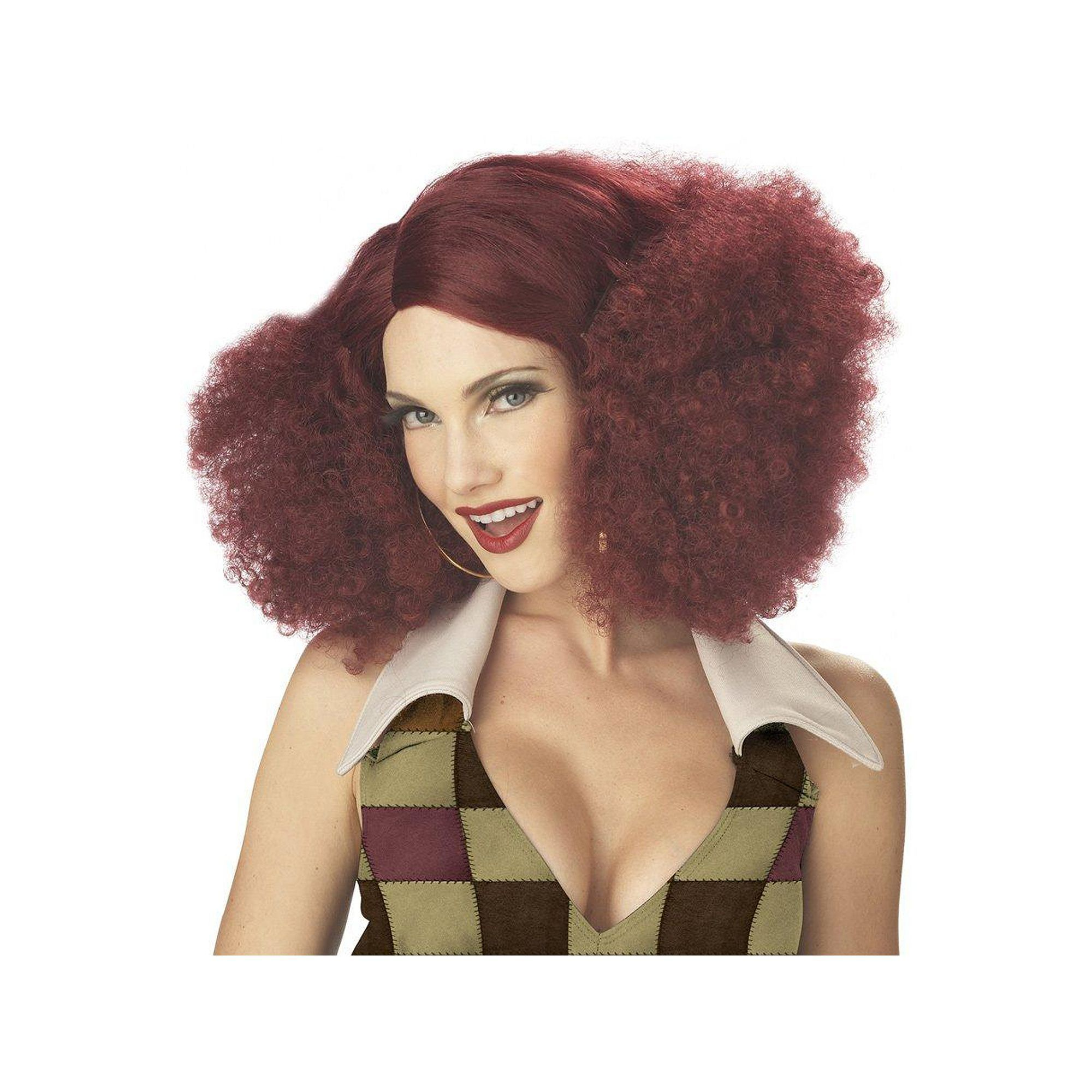 Disco Sensation Costume Wig - Adult Womenu0027s ...  sc 1 st  Pinterest & Disco Sensation Costume Wig - Adult Womenu0027s Red | Costume wigs and ...