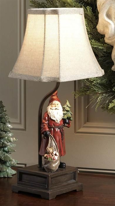 Saint nick table lamp christmas crafts pinterest santa and craft saint nick table lamp aloadofball Image collections