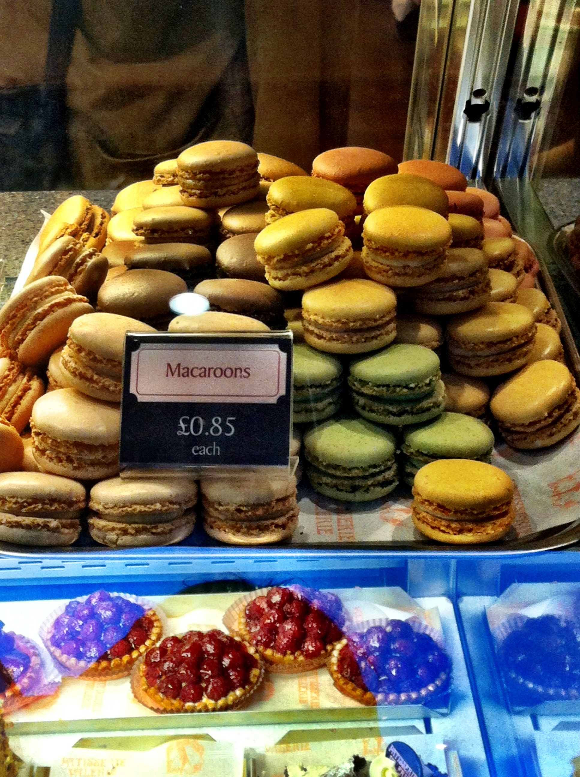 Patisserie Valerie , Macaroons I went to a ball and it was only polite to  take two. I could of sat all night eating them.