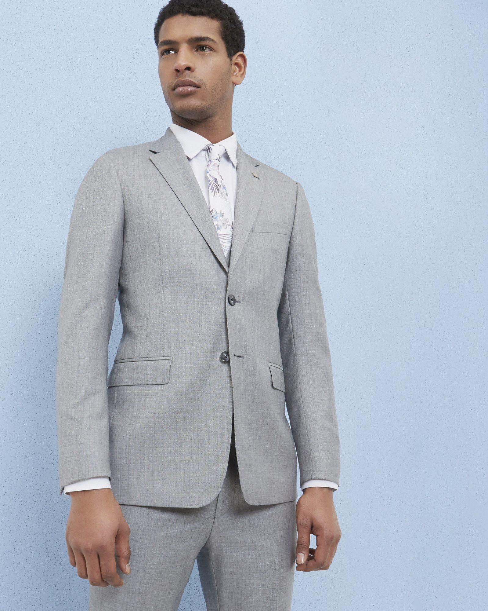 451d2393cc59 Debonair wool jacket - Light Gray