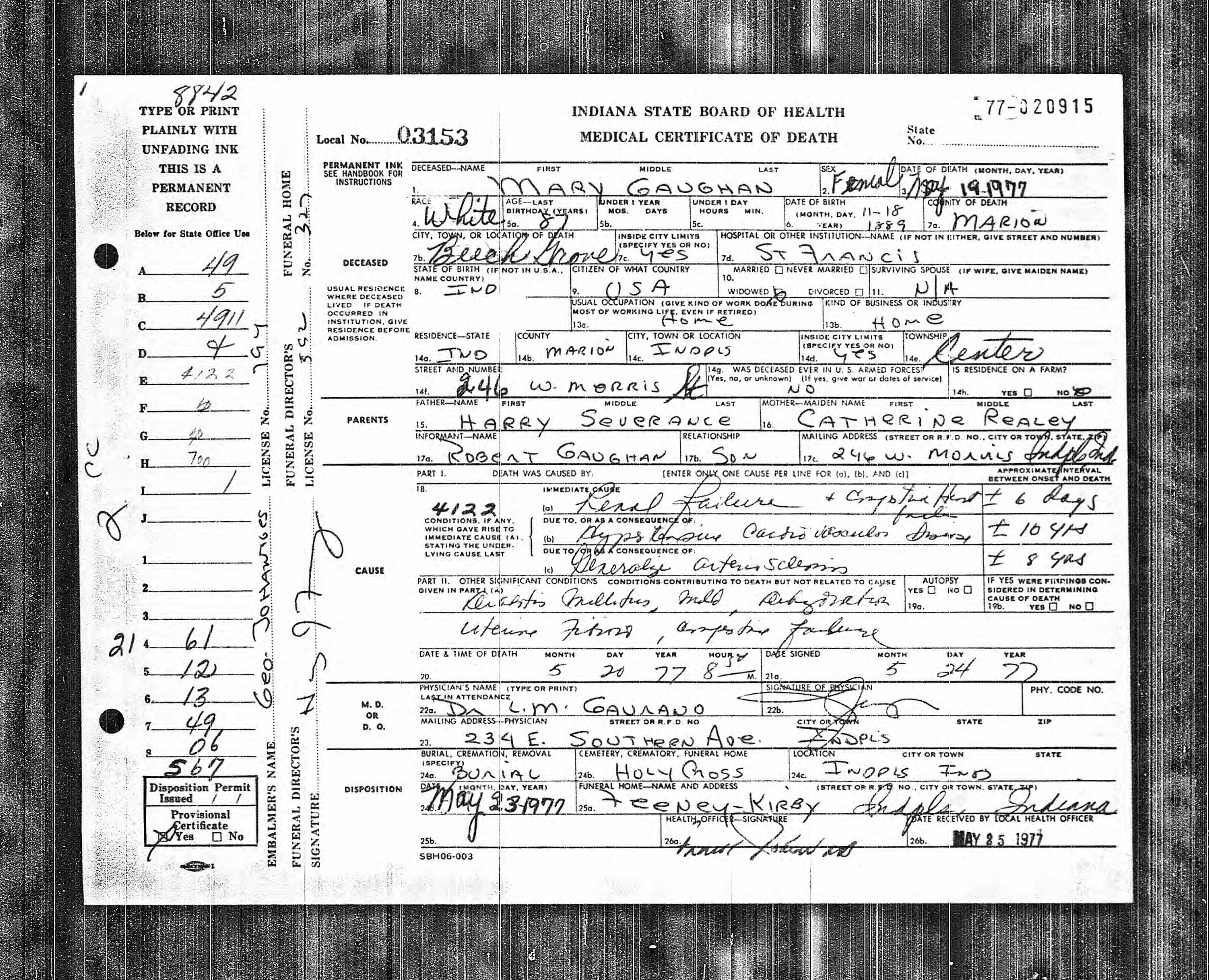 Indiana archives and records administration indianapolis in usa indiana archives and records administration indianapolis in usa death certificates year aiddatafo Choice Image