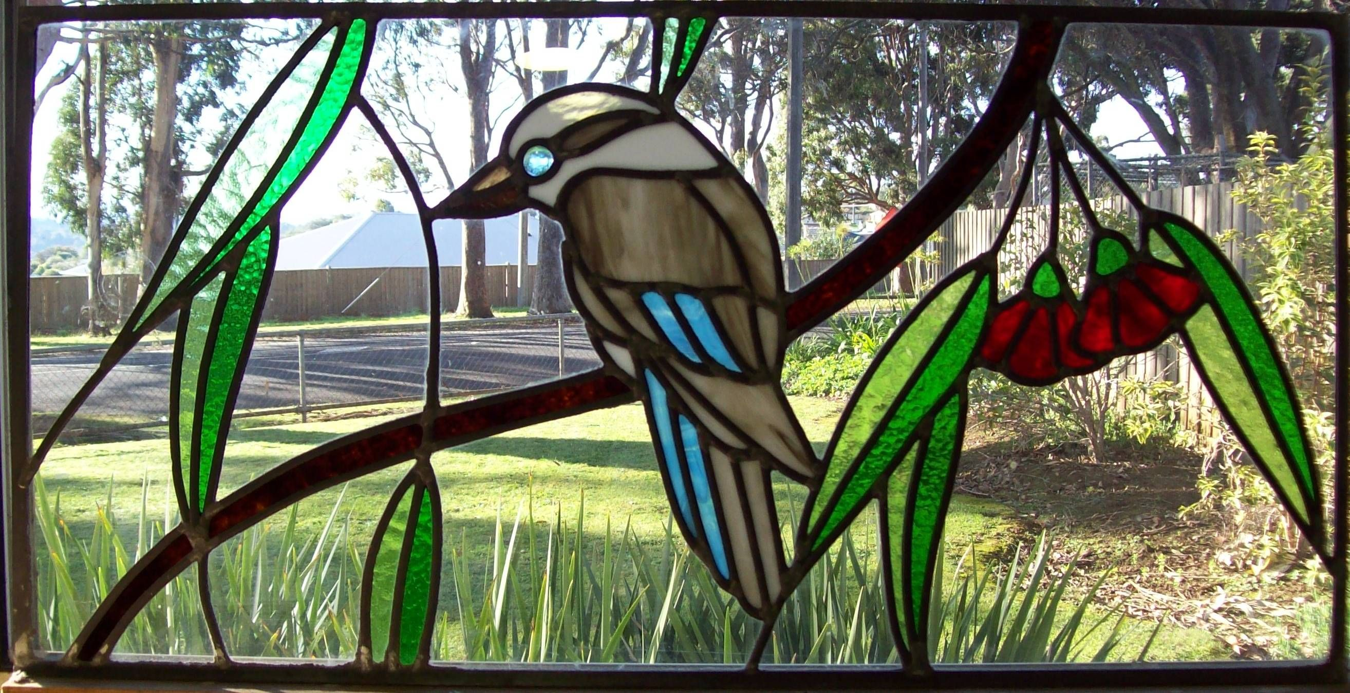 Kookaburra Stained Glass Pattern  Google Search