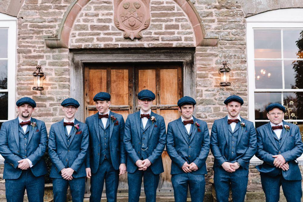 1920s Vintage Style Peaky Blinders Dewsall Court Wedding ...
