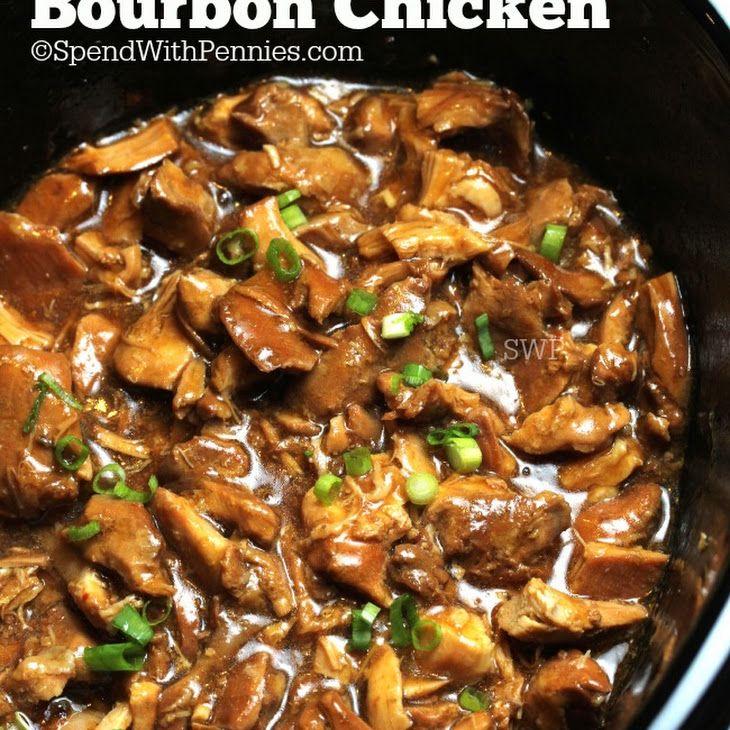 Crock Pot Garlic Chicken Thighs: Crock Pot Bourbon Chicken