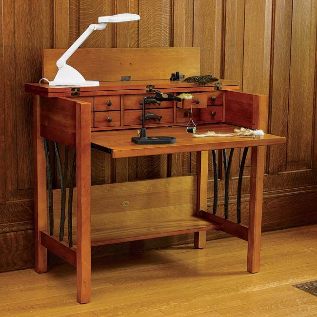 Fly Tying Bench Ideas Part - 45: Fly Tying Desk Plans Do You Have Plans Or Anything Of That Sort Usually I Tie  Flies In Our Living Room How To Build A Fly Tying Bench I Show Off My  Awesome