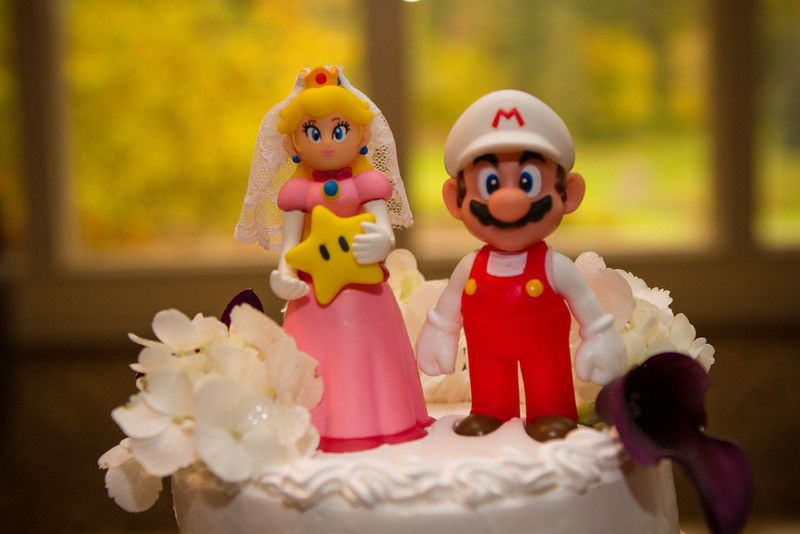 Ann & Justin Wedding. #JDEntertainment #WeddingPhotography #WeddingCakeToppers #Gamers