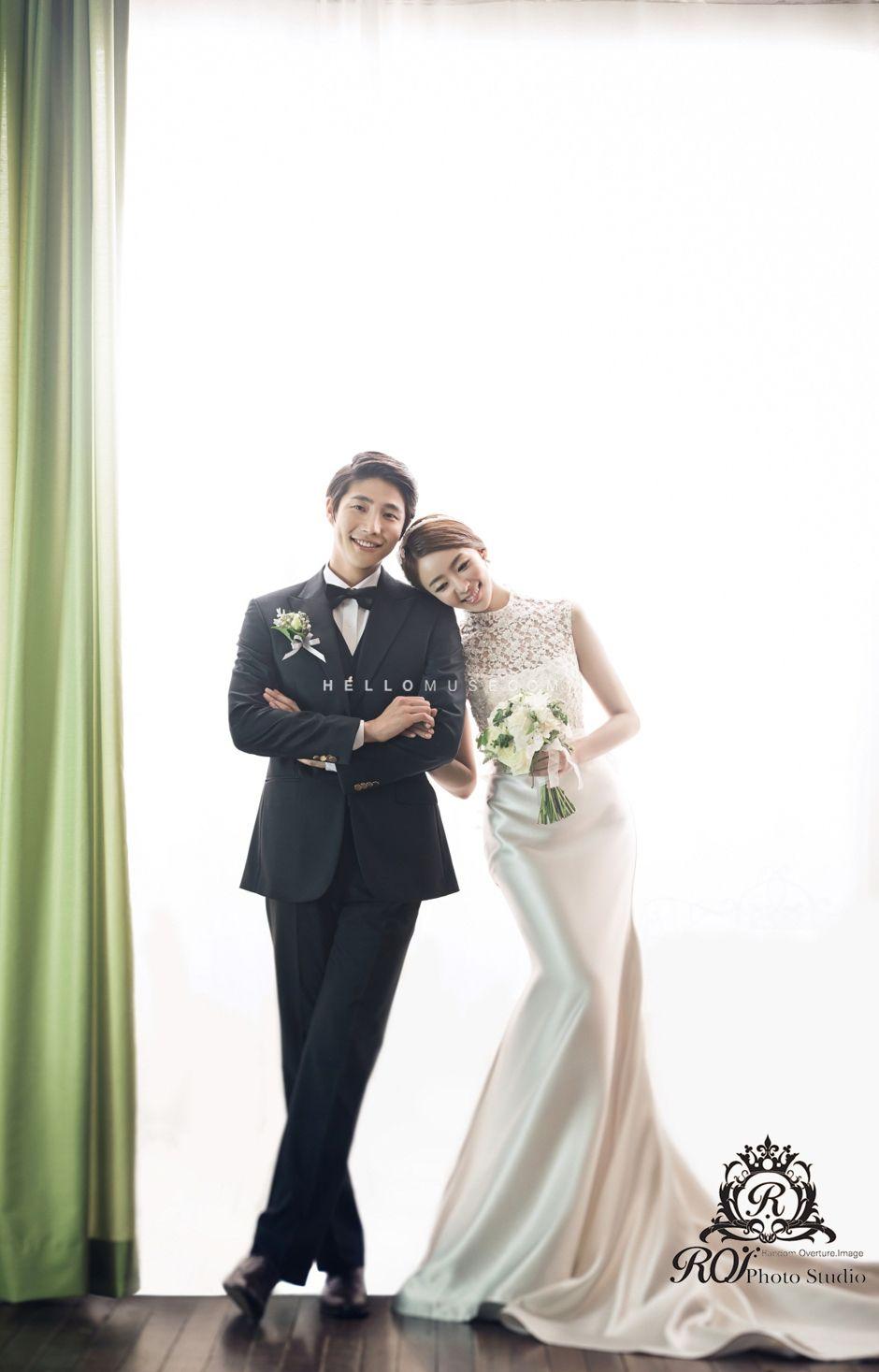 Korea pre wedding package Korean style wedding dress ...