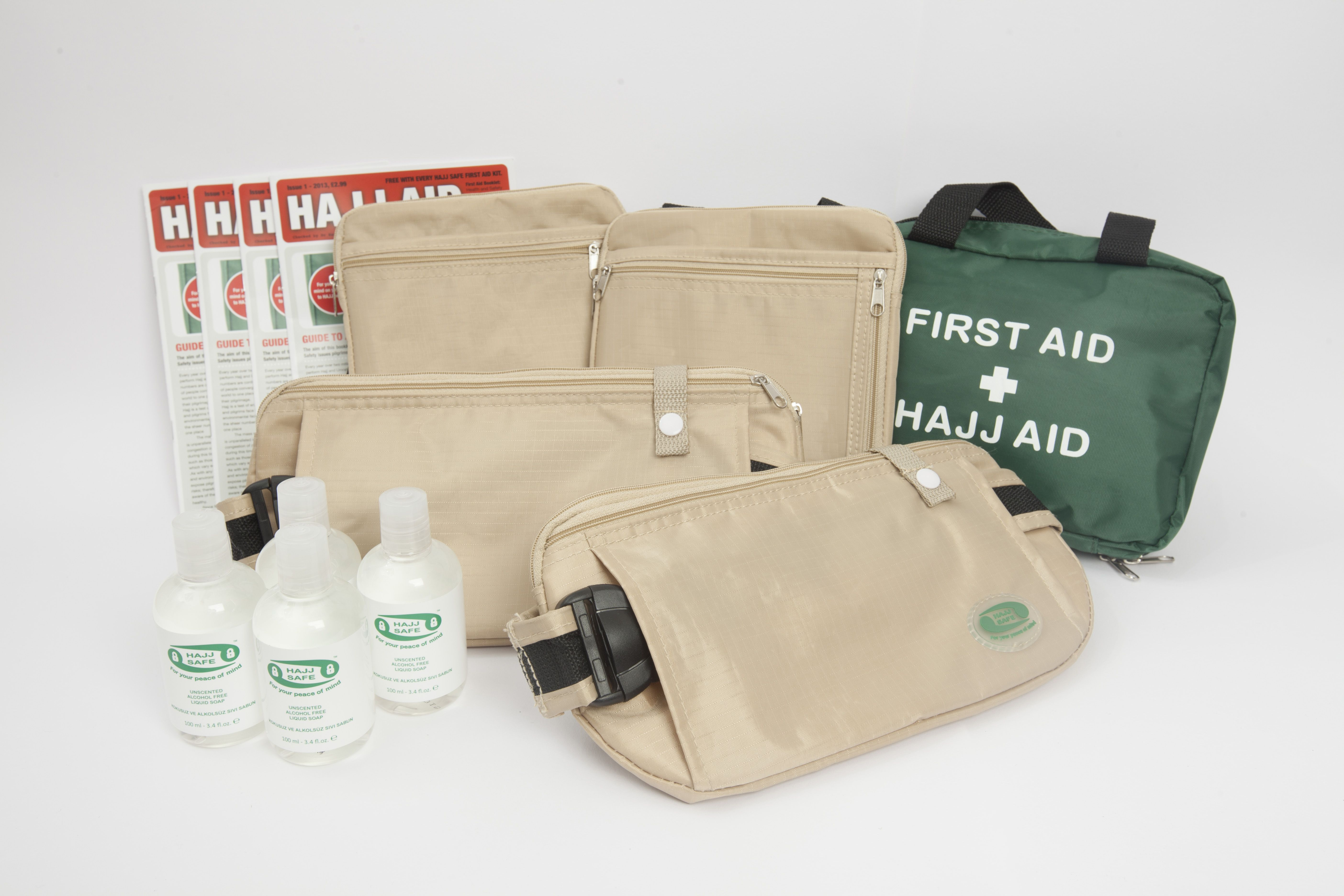 The complete Travel Kit!   Protect you and your family when you travel.