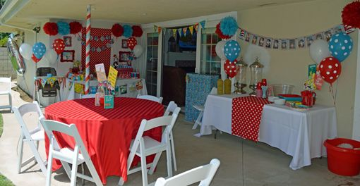 Dr Seuss Party Ideas Dr seuss party ideas Celebrations and Birthdays
