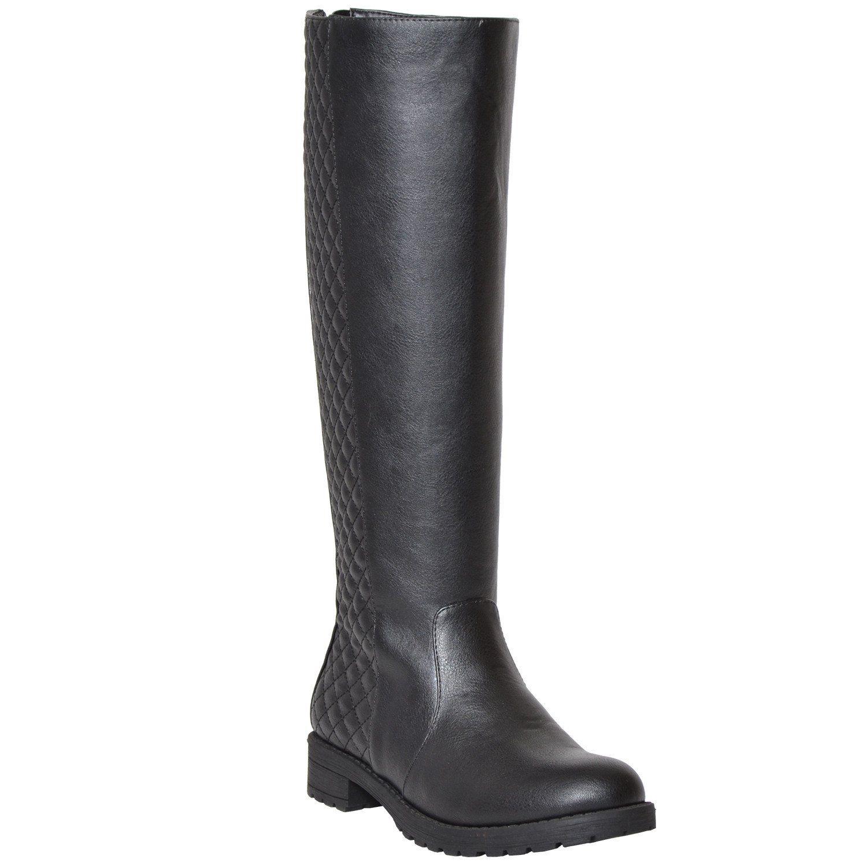 99726ee5d5223 Nine West Nicolah Block-Heel Tall Boots | Navy boots | Tall boots ...