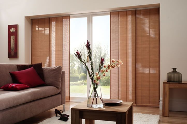 flat panel window coverings | Click on our Panel Glide Blinds to view a slideshow & flat panel window coverings | Click on our Panel Glide Blinds to ...