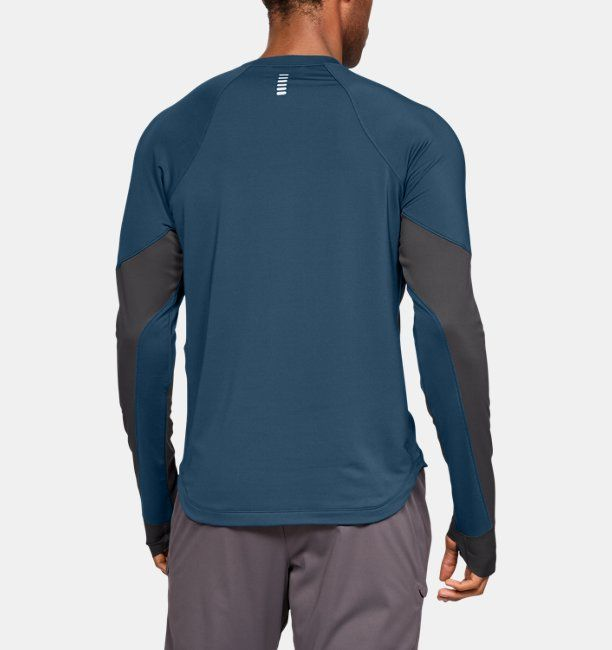 44b4859fa7413 Camiseta de manga larga ColdGear® Reactor WINDSTOPPER® para hombre ...