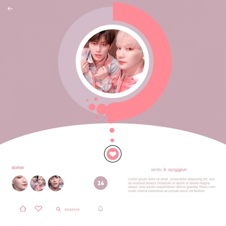 Couple Template 023 By C0loursite By C0loursite On Deviantart In 2020 Templates Deviantart Couples