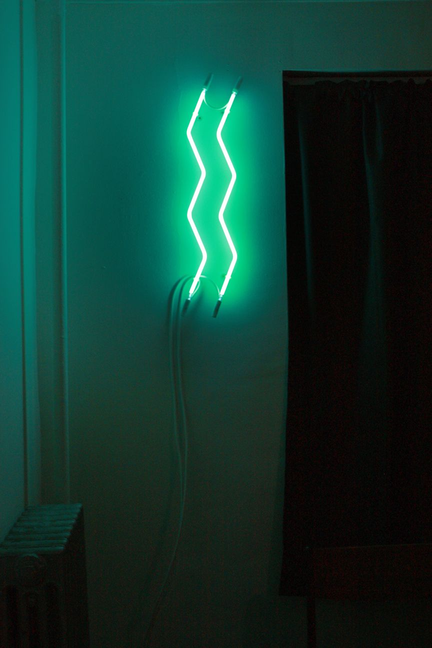 my first neon light or the first one i made without any help