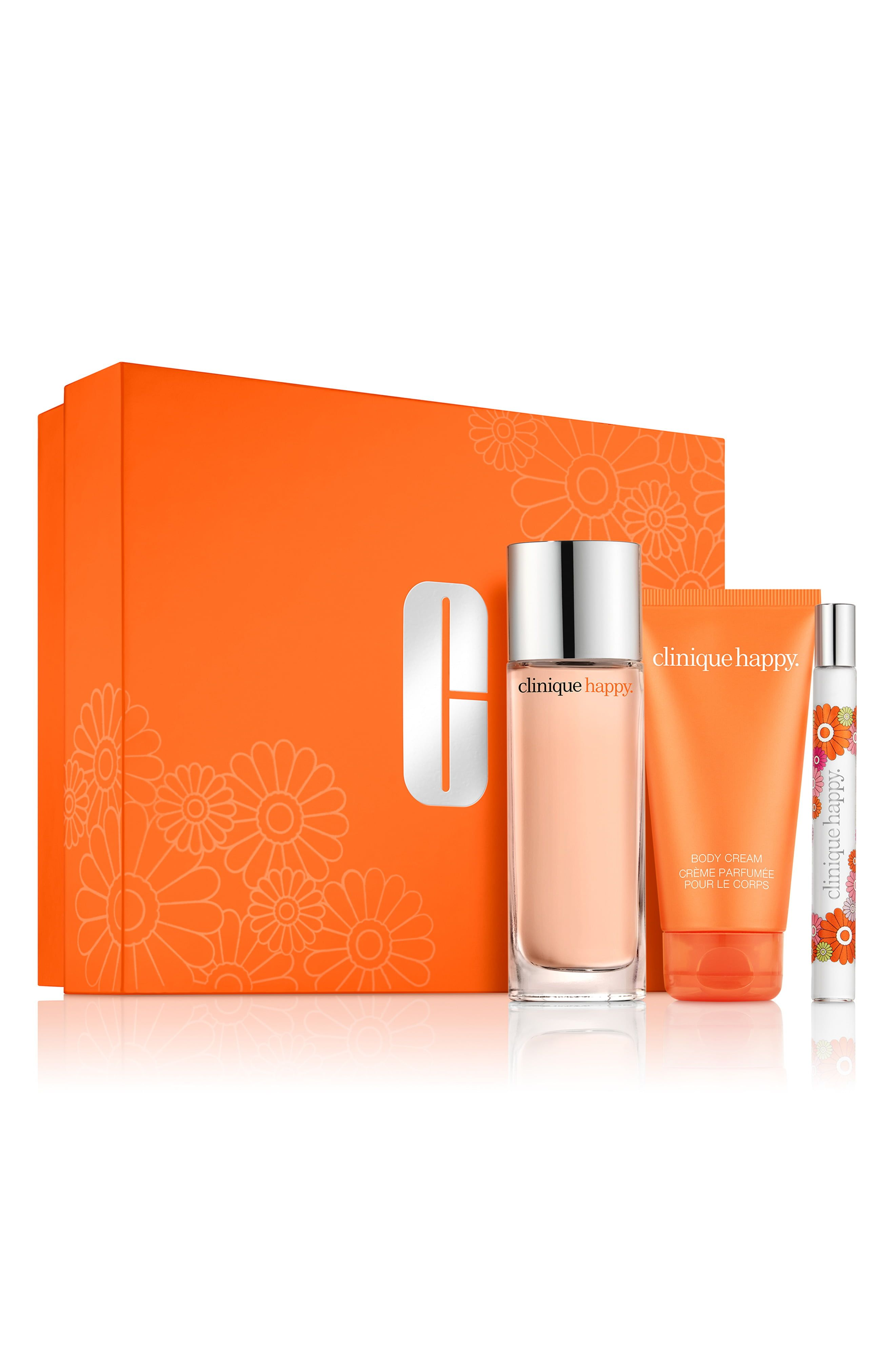 Clinique Perfectly Happy Set in 2020 Happy perfume